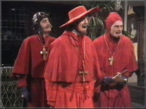 Nobody expects it
