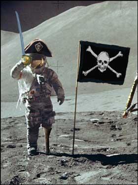 A-t-on vraiment marché sur la lune ? - Page 10 Piratemoonlanding