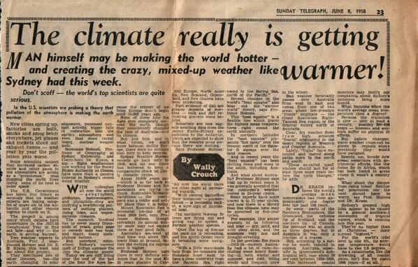 Articles on global warming?