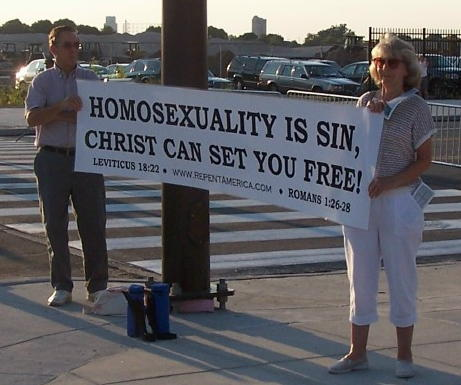 File:Repent America - with banner at Phillie's gay day.jpg