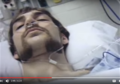 Chris Wark of ChrisBeatCancer, in 2003, post cancer-surgery, YouTube v=rch40E9dIK4.png